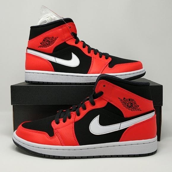 Nike Air Jordan Retro 1 Mid Infrared 23 554724-061 NWT